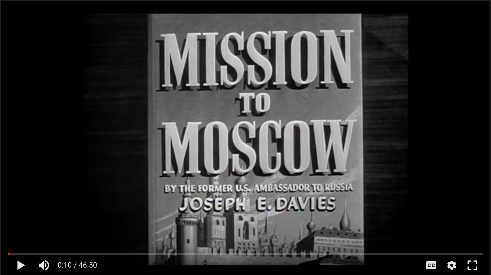 Mission to Moscow still