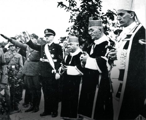 Stepinac and fascists