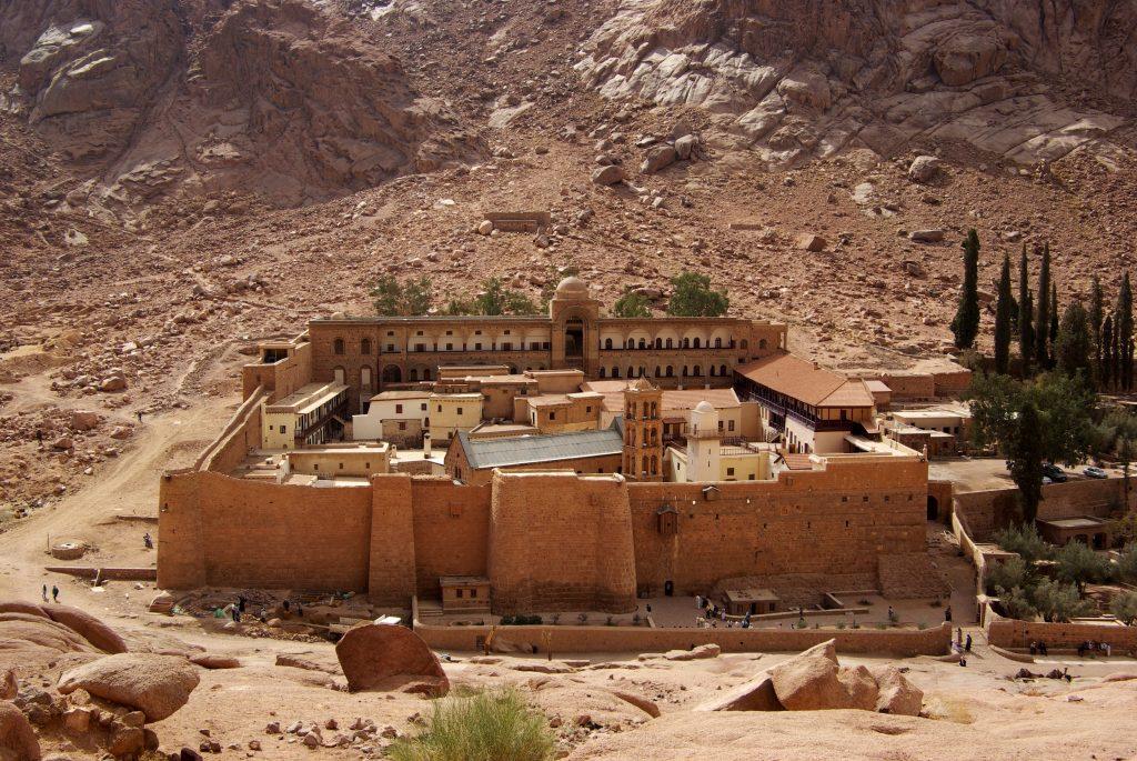 Saint Catherine Monastery in Egypt