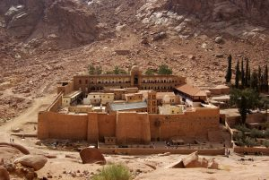 Saint Catherine Monastery in Egypt