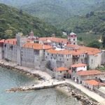 Esphigmenou Monastery on Mount Athos